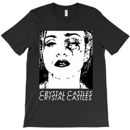 Madonna Crystal Castles T-shirt Designed By Candy Shop