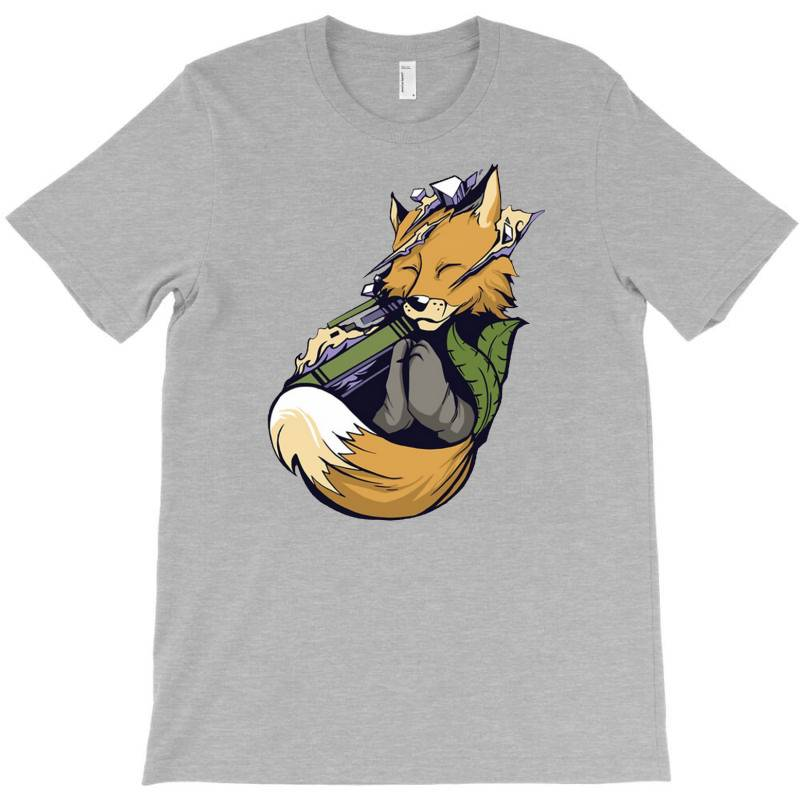 Meditating Fox Yoga T-shirt | Artistshot