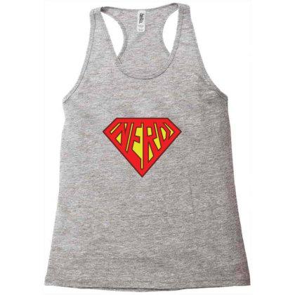 Nerd Superhero Gift Racerback Tank Designed By Blackstone