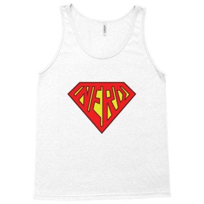 Nerd Superhero Gift Tank Top Designed By Blackstone