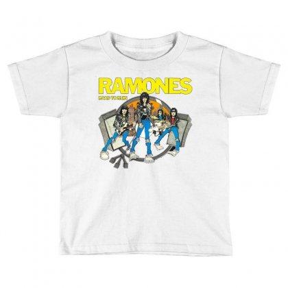 Ramones Toddler T-shirt Designed By Riyan28