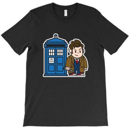 Mitesized 10th Doctor T-shirt Designed By Navrn