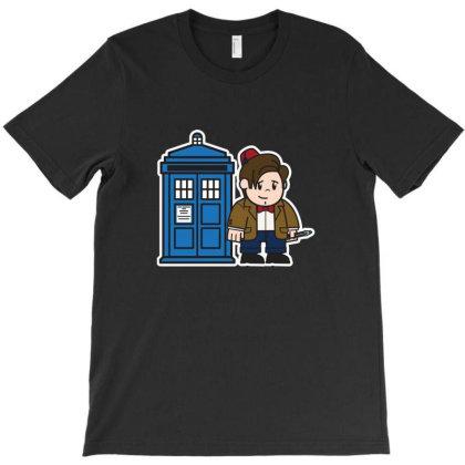 Mitesized 11th Doctor T-shirt Designed By Navrn