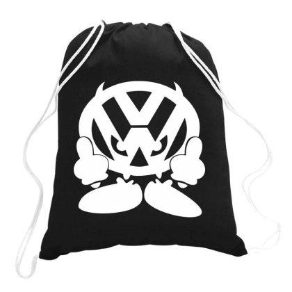 Vw Face Drawstring Bags