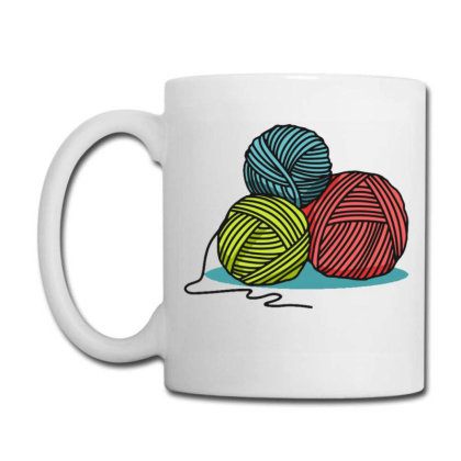 Ball Of Yarn Coffee Mug Designed By Maadart