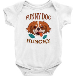 Dog Funny Animals Baby Bodysuit Designed By Kamim.rogers
