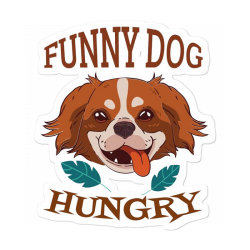 Dog Funny Animals Sticker Designed By Kamim.rogers