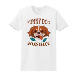 Dog Funny Animals Ladies Classic T-shirt Designed By Kamim.rogers