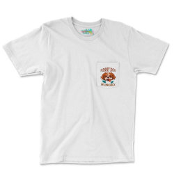 Dog Funny Animals Pocket T-shirt Designed By Kamim.rogers