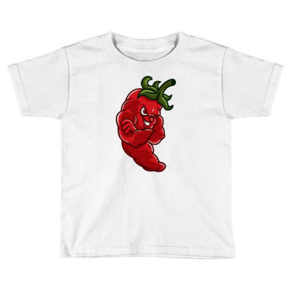 Chili Toddler T-shirt Designed By Maadart