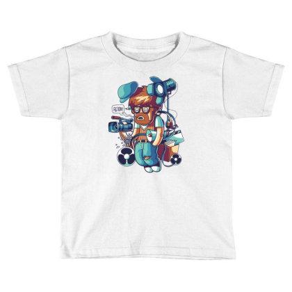 Cinema Director Toddler T-shirt Designed By Maadart