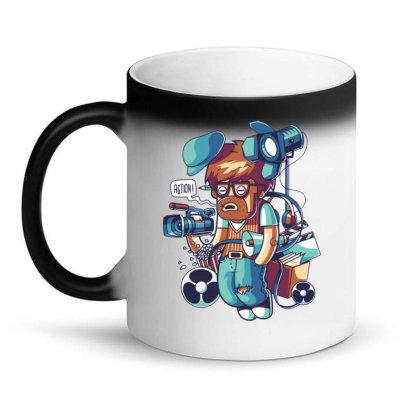 Cinema Director Magic Mug Designed By Maadart