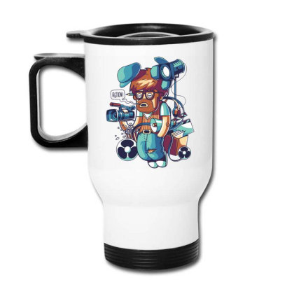 Cinema Director Travel Mug Designed By Maadart