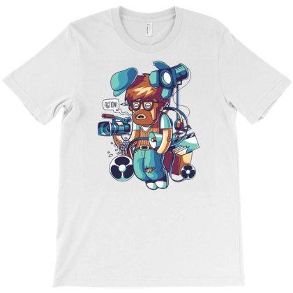 Cinema Director T-shirt Designed By Maadart