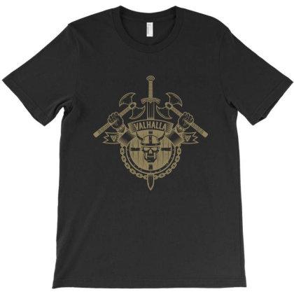 Valhalla, Skull T-shirt Designed By Estore