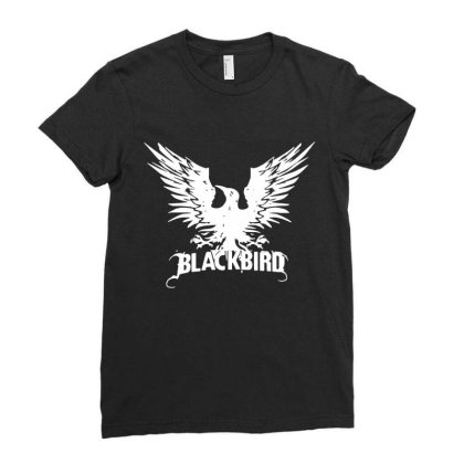 Alter Bridge Rock Band Ladies Fitted T-shirt Designed By Leona Art