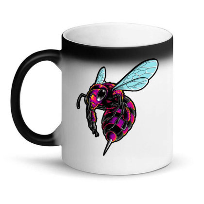 Electro Bee Magic Mug Designed By Maadart