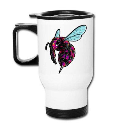 Electro Bee Travel Mug Designed By Maadart