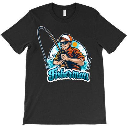 Fisherman1 T-shirt Designed By Maadart