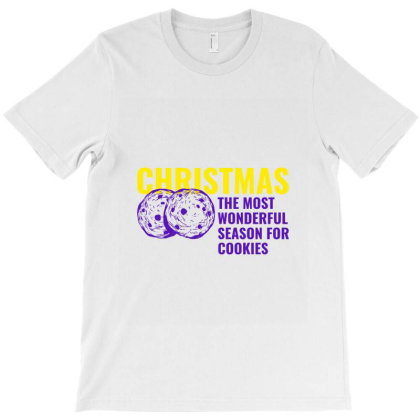 Christmas The Most Wonderful Season For Cookies T-shirt Designed By Perfect Designers