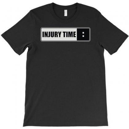 Injury Time T-shirt Designed By Mdk Art