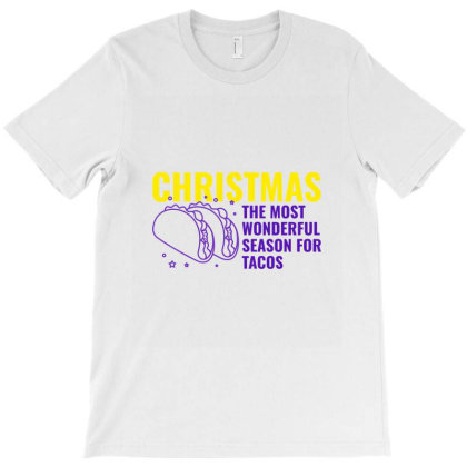 Christmas The Most Wonderful Season For Tacos T-shirt Designed By Perfect Designers