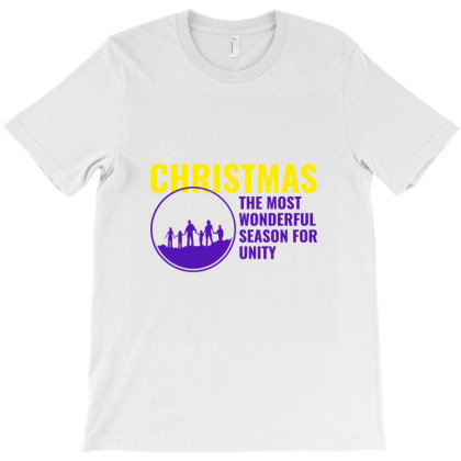 Christmas The Most Wonderful Season For Unity T-shirt Designed By Perfect Designers