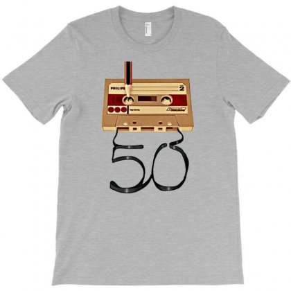 Music Tape Retro T-shirt Designed By Gematees