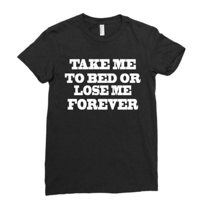 Lose Me Forever Ladies Fitted T-shirt Designed By Suryanaagus