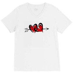 love love V-Neck Tee   Artistshot