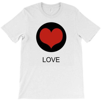 Love T-shirt Designed By Suryanaagus