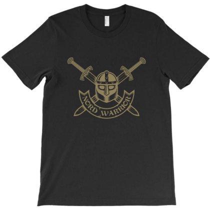 Nord Warrior, Skull T-shirt Designed By Estore