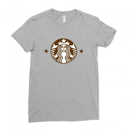 Starbucks Ladies Fitted T-shirt Designed By Sabriacar