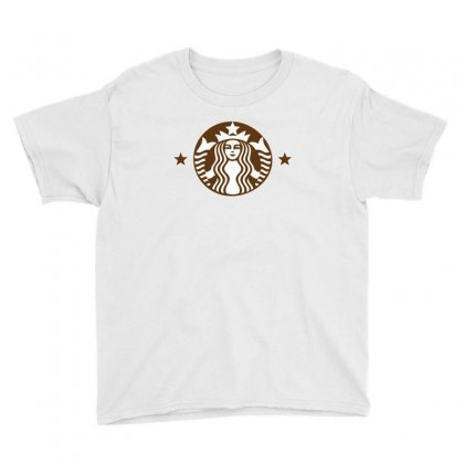 Starbucks Youth Tee Designed By Sabriacar