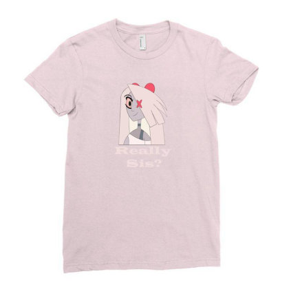 Charlie Hazbin Season Ladies Fitted T-shirt Designed By Bonita Sila