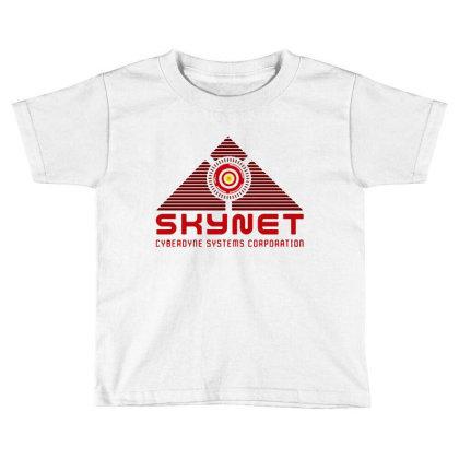 Skynet Corporation Toddler T-shirt Designed By Leona Art