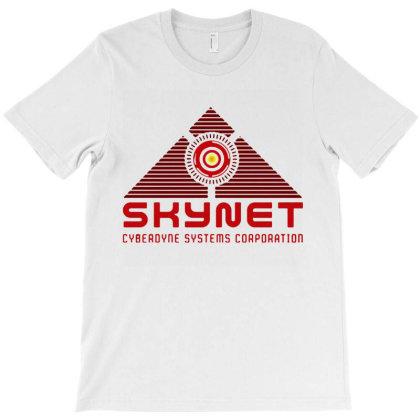 Skynet Corporation T-shirt Designed By Leona Art