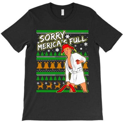 Sorry Merica's Full T-shirt Designed By Leona Art