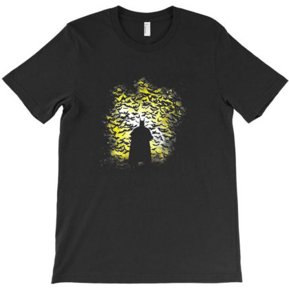 Night Of The Bats T-shirt Designed By Oscard
