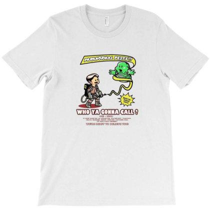 Paranormal Pest Exterminators T-shirt Designed By Oscard