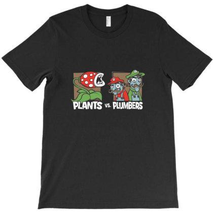 Plants Vs T-shirt Designed By Oscard