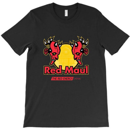 Red Maul Energy Drink T-shirt Designed By Oscard