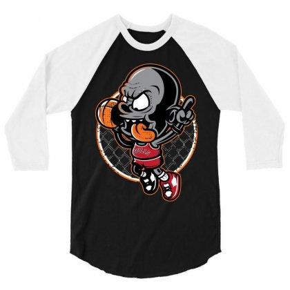 Jordan Dunk 3/4 Sleeve Shirt Designed By Mdk Art