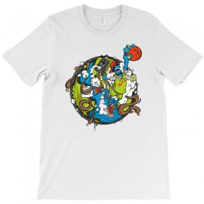Jumper T-shirt Designed By Mdk Art