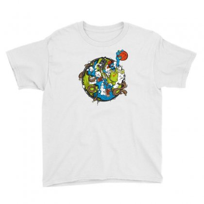 Jumper Youth Tee Designed By Mdk Art