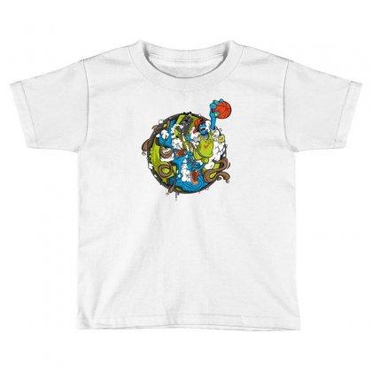 Jumper Toddler T-shirt Designed By Mdk Art