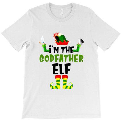 I'm The Godfather Elf T-shirt Designed By Jablay
