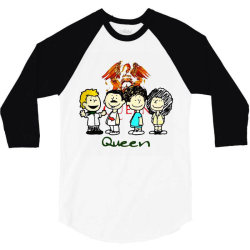 funny queen  cartoon 3/4 Sleeve Shirt | Artistshot