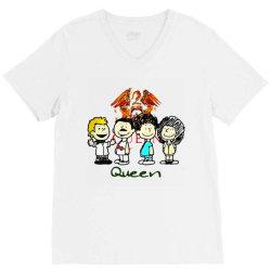 funny queen  cartoon V-Neck Tee | Artistshot