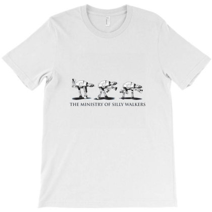 Silly Walkers At At Monty Python T-shirt Designed By Shomdj